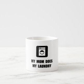 Mom Does Laundry Espresso Cup