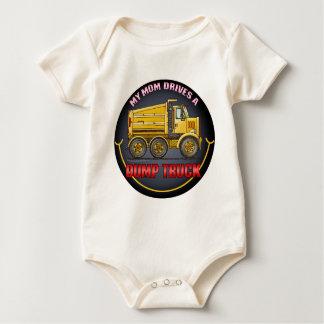 Mom Drives A Highway Dump Truck Infant Creeper