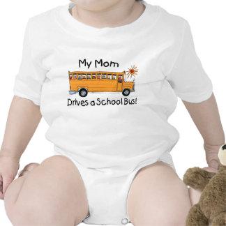 Mom Drives a School Bus Baby Creeper