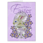 Mom Easter Card With Baby Rabbit - Just For You At