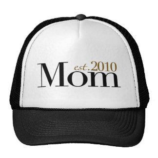 Mom Est 2010 Hat