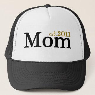 Mom Est 2011 Trucker Hat