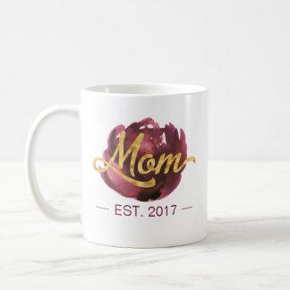 Mom EST. Customizable   Mug