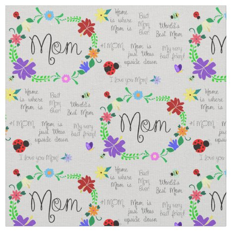 Mom Fabric