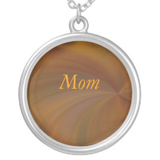 Mom, Fall Radial Twirl Necklace