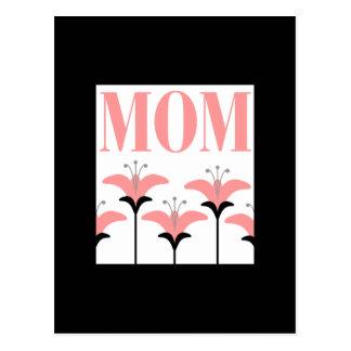 MOM Flower Postcart Postcard