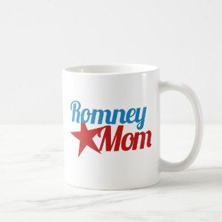 Mom for Mitt Classic White Coffee Mug