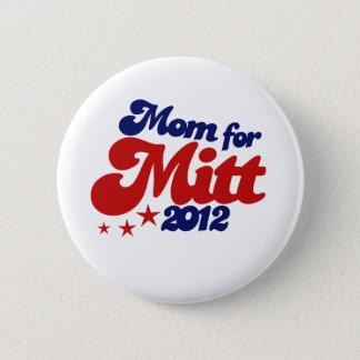 Mom for Mitt Romney Button