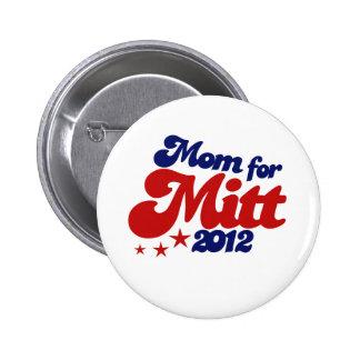 Mom for Mitt Romney 2 Inch Round Button