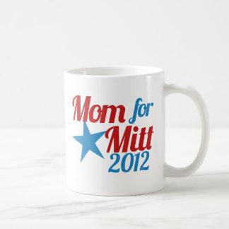 Mom for Mitt Romney Classic White Coffee Mug