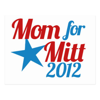 Mom for Mitt Romney Postcard