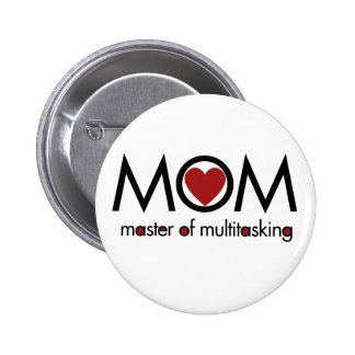MOM for mothers day love Button