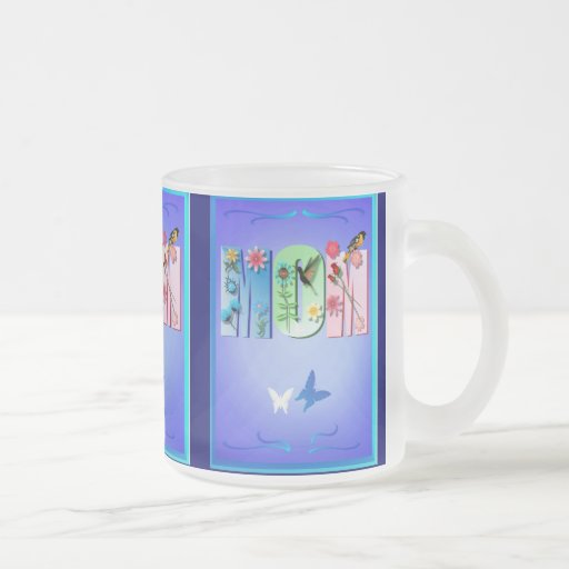 MOM FROSTED GLASS COFFEE MUG