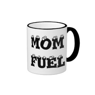 Mom Fuel Customizable Ringer Mug