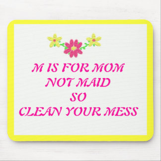 MOM FUNNY MOUSE PAD