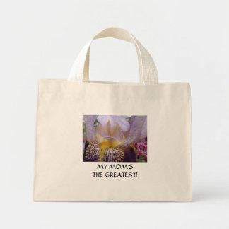 MOM Gifts Iris Flowers Tote Bag Christmas Birthday