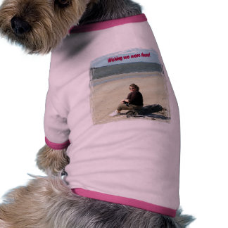 Mom Gone on Vacation Pet Clothing