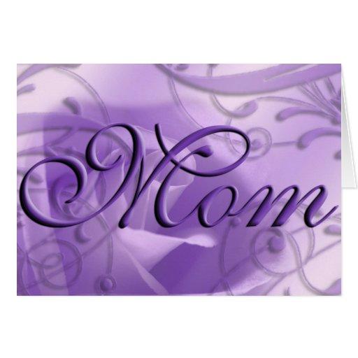 Mom Greeting Card