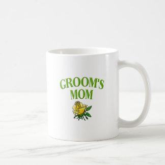 mom -groom- rose coffee mugs