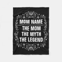 Mom Happy Mother's Day Fleece Blanket