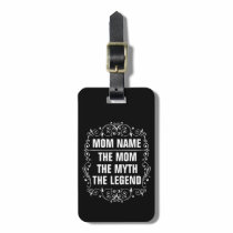 Mom Happy Mother's Day Luggage Tag