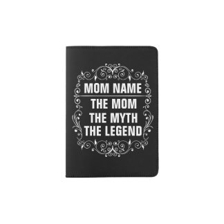 Mom Happy Mother's Day Passport Holder