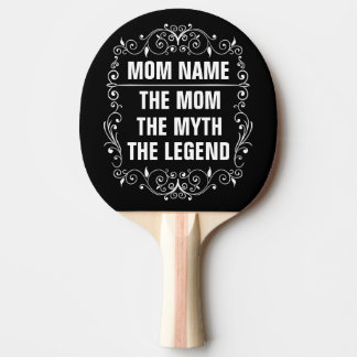 Mom Happy Mother's Day Ping Pong Paddle