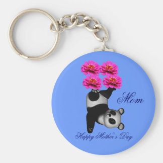 Mom Happy Mother's Day Juggling Panda Keychain