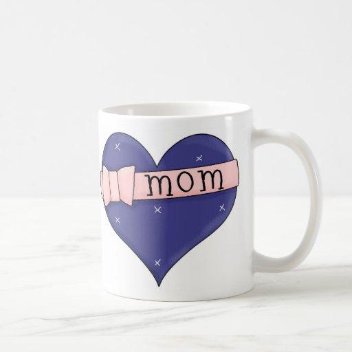Mom Heart Coffee Mug
