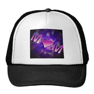 MoM heart design Hat