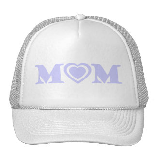MOM Heart in Lavender Trucker Hat