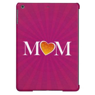 Mom Heart O Fuchsia Cover For iPad Air
