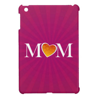 Mom Heart O Fuchsia Case For The iPad Mini