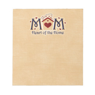 MOM Heart of the Home Notepad