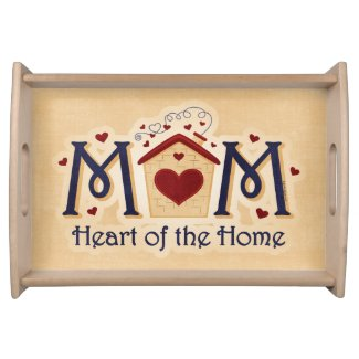 MOM Heart of the Home Serving Tray