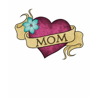 Mom Heart Tattoo T-Shirt shirt