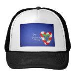 Mom/Heart Trucker Hat