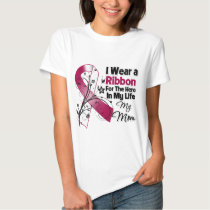 Mom Hero in My Life Head Neck Cancer T-shirts