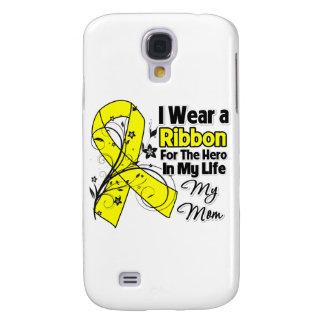 Mom Hero in My Life Sarcoma Galaxy S4 Cases