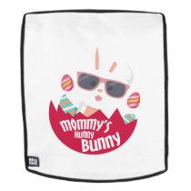 Mom Hunny Bunny Easter Funny Boys Girls Men Women Backpack