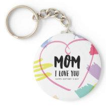 Mom I love you Keychain