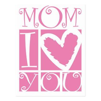 mom I love you Post Card