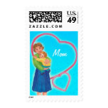 Mom - I love you Stamp