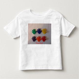 Mom I Painted, Precious Hands Toddler T-shirt