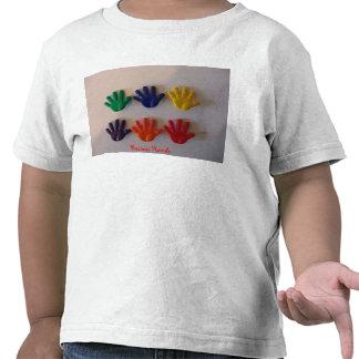 Mom I Painted, Precious Hands Tee Shirt