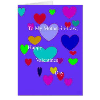 Mom-in-Law Valentine from him Card