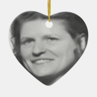 Mom In Memory Ceramic Ornament