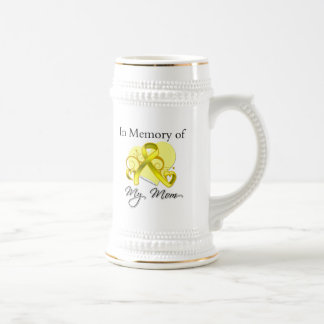 Mom - In Memory of Military Tribute Beer Stein