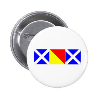 mom in nautical code flags pinback buttons