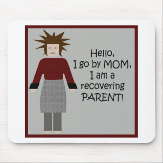 Mom in Recovery 2 Mousepads